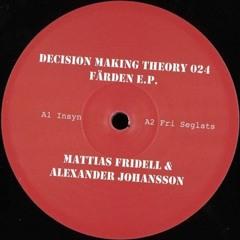 Alexander Johansson & Mattias Fridell - Färden EP (DMT024)