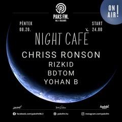 Yohan B Live At Night Café @ PaksFM 2021.08.21