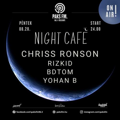 Chriss Ronson Live At Night Café @ PaksFM 2021.08.20