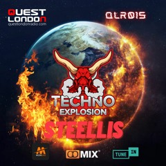 Techno Explosion Exclusive 015 Guest Mix SteEllis (bit.ly3eErF67) - 14.08.2021