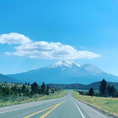 Shasta mountain