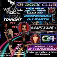 C4 ROCK CLUB - Wednesday 6/09/21