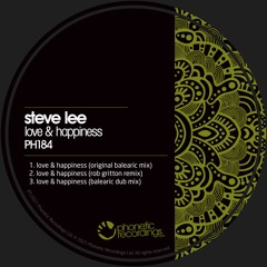 Steve Lee - Love & Happiness (The After Hours Dub Mix) PREVIEW