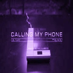 Lil TJay Feat 6lack -Calling My Phone Chopped
