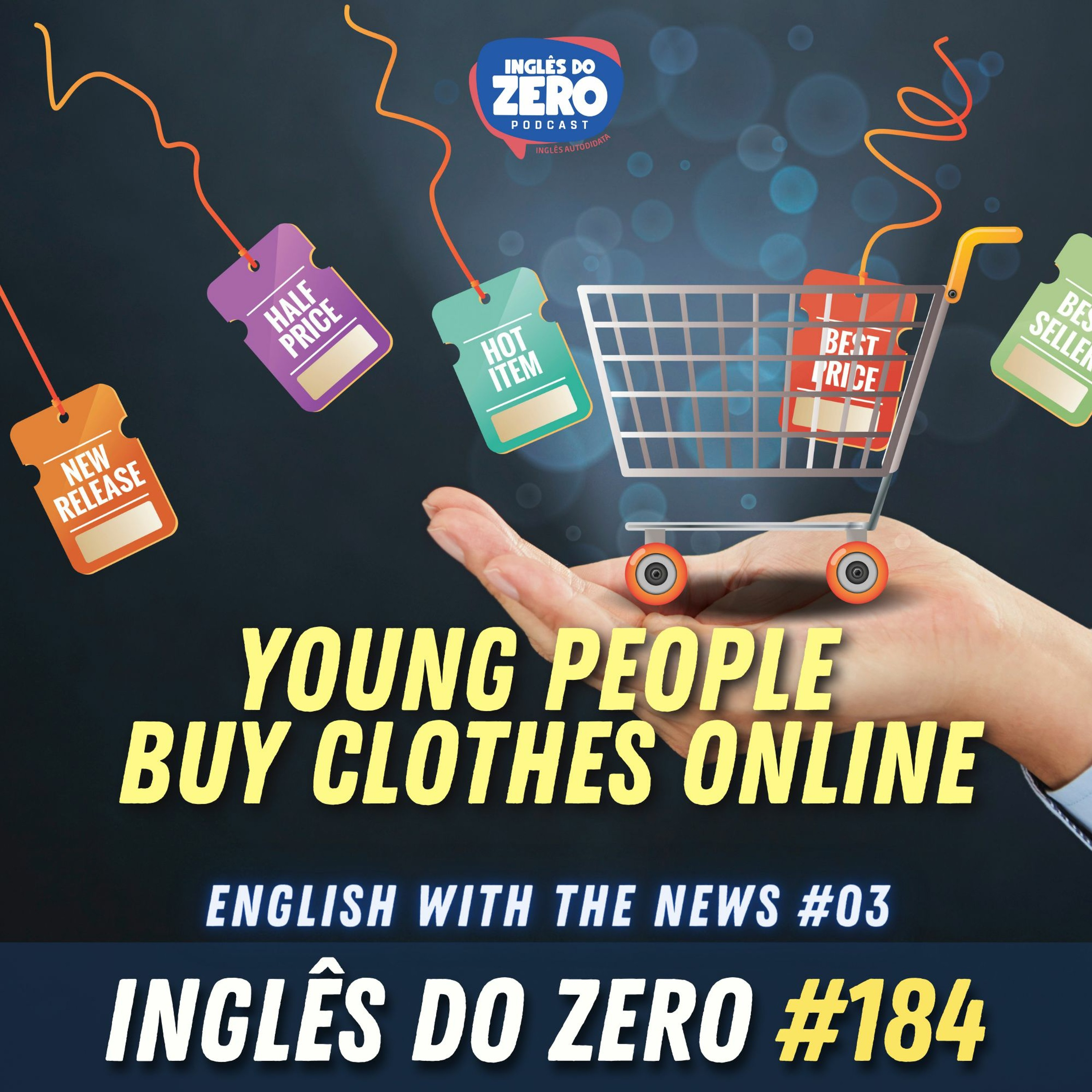 IDZ #184 - Young People Buy Clothes Online | | English with the News - 03
