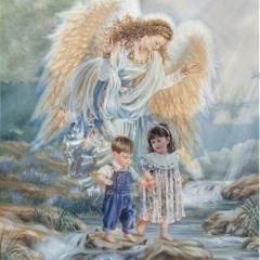 On Angels' Wings (In Memory of May Lemke)