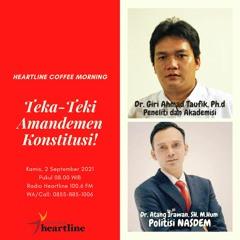 Coffee Morning: Teka-Teki Amandemen Konstitusi!