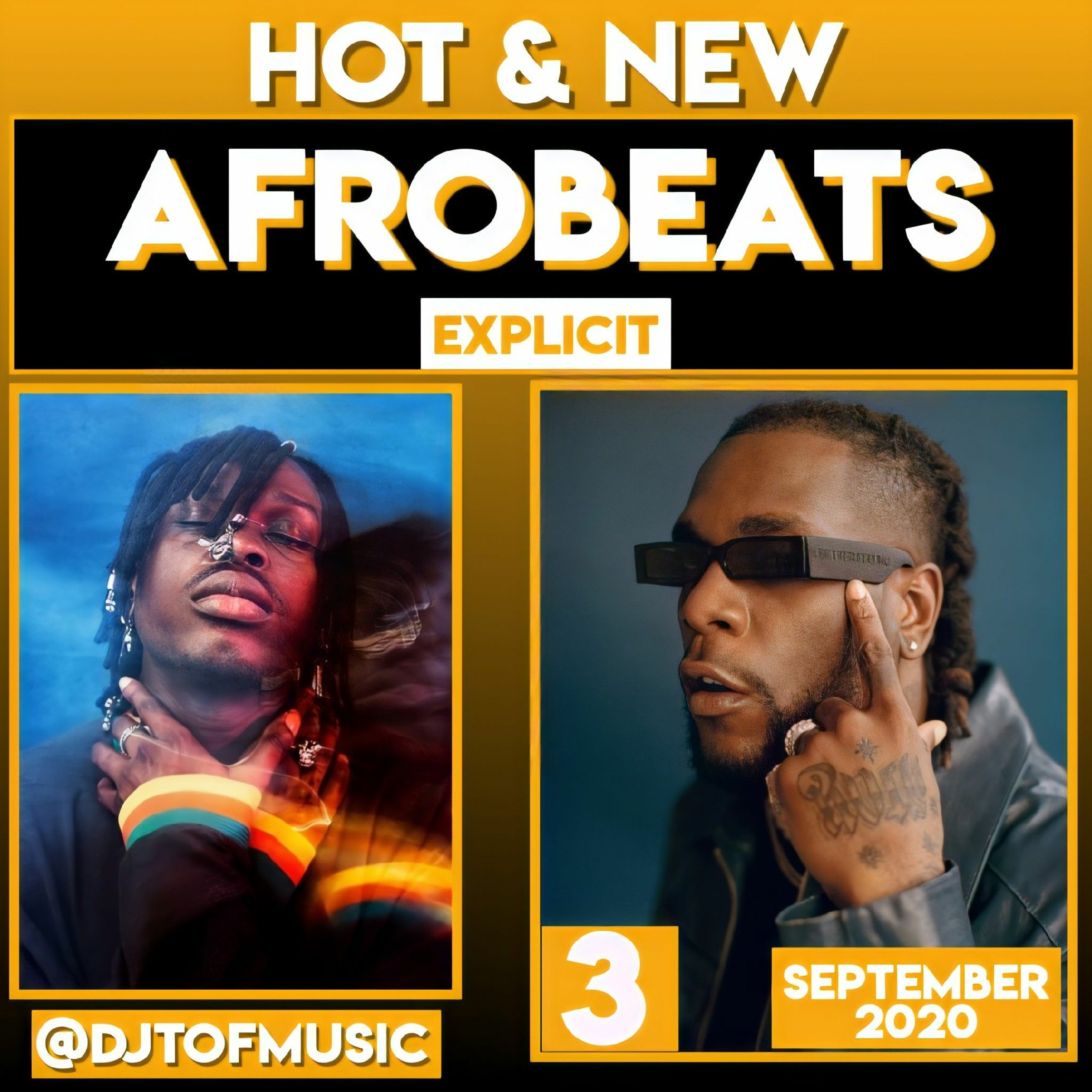 HOT AND NEW - SEPTEMBER 2020 AFROBEATS UPDATE