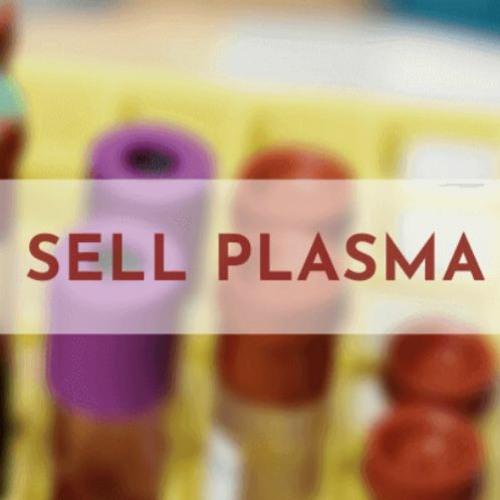 Where To Sell Plasma