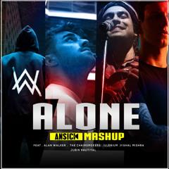 Ansick - Alone (Mashup) - ft.. Alan Walker, The Chainsmokers Jubin & Vishal Mishra