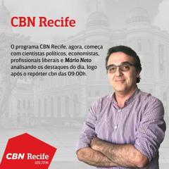 CBN Recife - Debate com os principais assuntos desta quarta-feira, 07 de julho de 2021