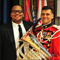 """Concerto for Euphonium & Wind Ensemble - Hiram Diaz, """"The Pershing's Own"""" United States Army Band"""
