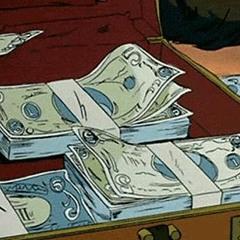Money SUITCASES x BASS