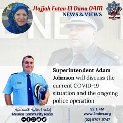 Superintendent Adam Johnson