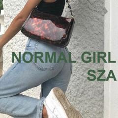 normal girl - sza // slowed