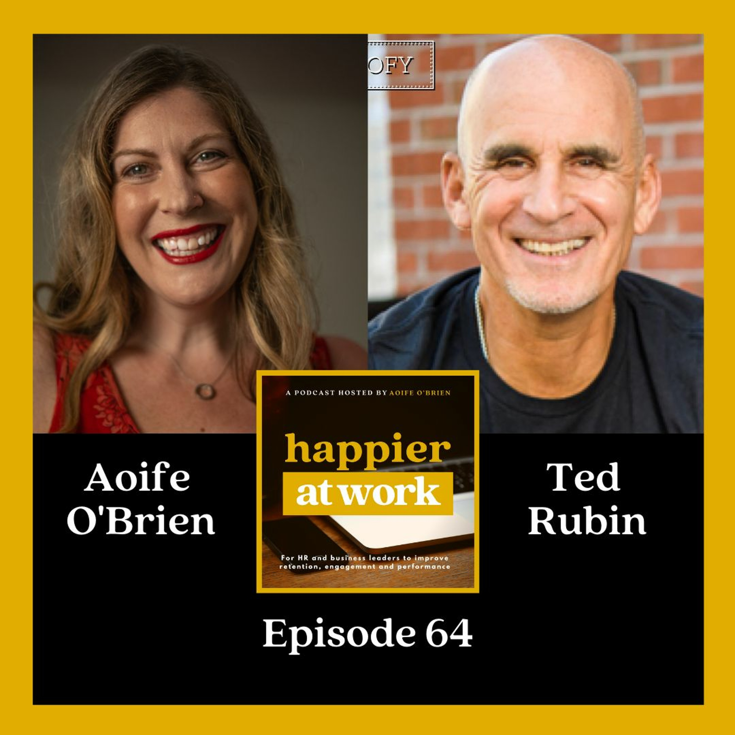 64: Business community & return on relationships with Ted Rubin