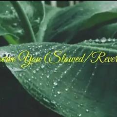 Justin Bieber - Deserve You (slowed/reverbed + it's raining)