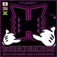 HI & I Vibez Mix September 2021