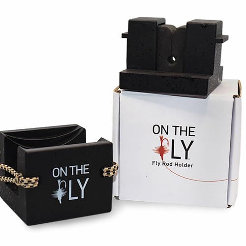 "119 Jerrald Barsten, Selkirk Design, ""On the Fly"" Fly Rod Holder, Spokane WA"