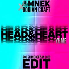 Joel Corry feat. MNEK x Dorian Craft, LVTECE - Head & Heart x Yume (Rob Schneider x San Loco Edit)