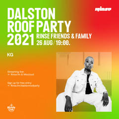 Dalston Roof Party: KG - 26 August 2021