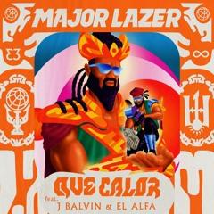 Major Lazer - Que calor (feat. J Balvin & El Alfa) (Lucky Charles RMX)