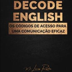 Decode English Code 4 - MOTIVAÇÃO