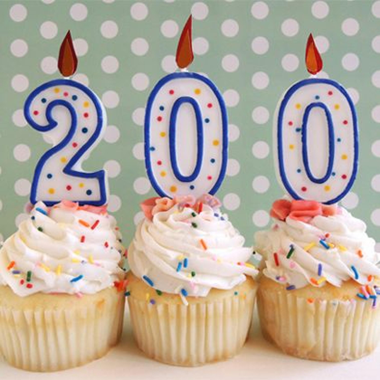 200: Hipp hurra for 200!!