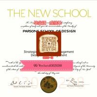 (Parsons毕业证文凭)制作QQ/Wechat:830 292 88美国帕森斯设计学院毕业证美国大学Parsons毕业证办理Parsons本科文凭证书 办Parsons学历学位认证#
