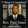 I Won't Complain (Contains excerpts for Haiti Relief-new sermons (bonus track))