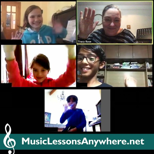 Online Music Composition Workshop group student composition