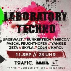 URGEWALT @ Laboratory Techno - Trafic, Cologne - 11.09.2021