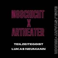 Lukas Neumann @ N8Schicht X Artheater, 03.09.2021