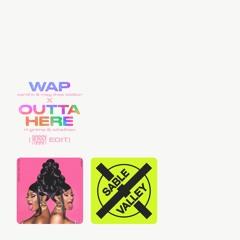 WAP X Outta Here (ROSSY Edit)