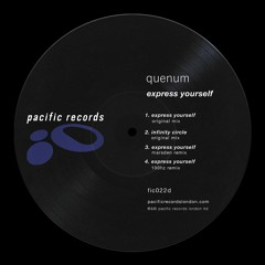 Quenum - Express Yourself EP [Pacific Records London]