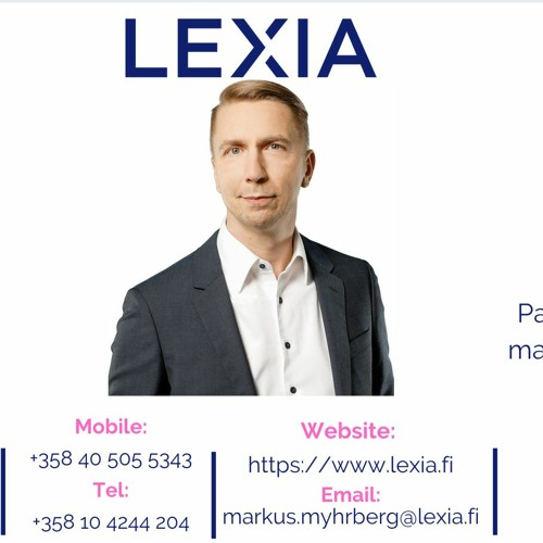 PrivacyRules Meet the Member Podcast with Lexia - Finland