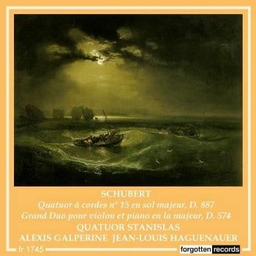 Schubert - Grand duo pour violon et piano en la majeur, D. 574