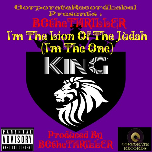 I'm The Lion Of The Judah (I'm The ONE: KING)