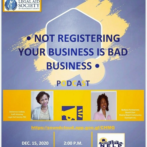 Not Registering Your Business Is Bad Business