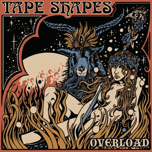 Tape Shapes - Black Shoes
