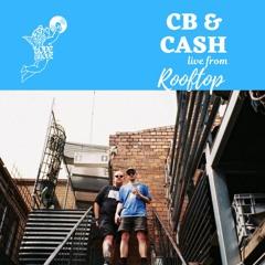 Love Above Mix 001: CB & Cash live @ Rooftop Bar, Melbourne