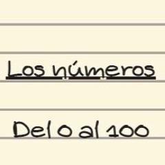 Los números en español del 0 al 100