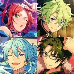 FUSIONIC STARS!! - Hinata x Hiyori x Wataru x Keito