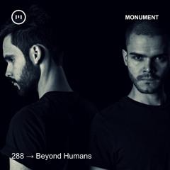MNMT 288 : Beyond Humans
