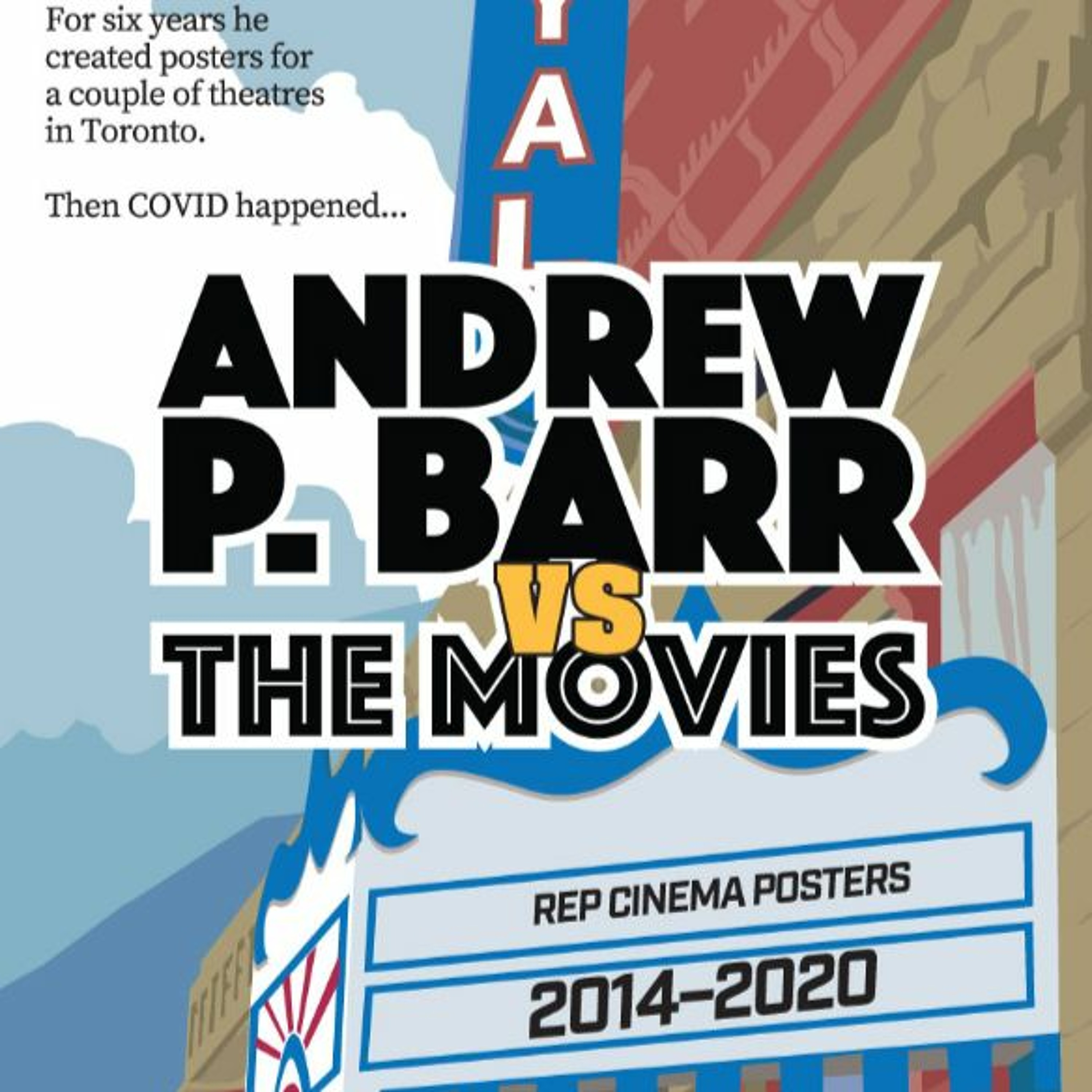 INTERVIEW:  Andrew Barr - A Movie Poster Artist