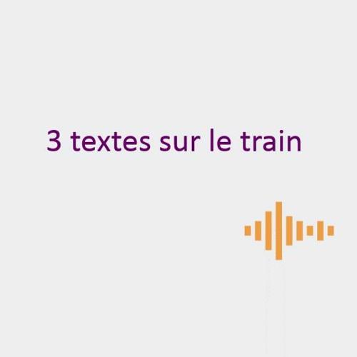 3 textes sur le train
