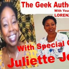 051 The Geek Authority Show - Juliette Jeffers - Actress - Writer - Producer