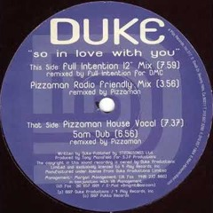 """[Free Download] Duke - So In Love With You (Full Intention 12"""" Mix)"""