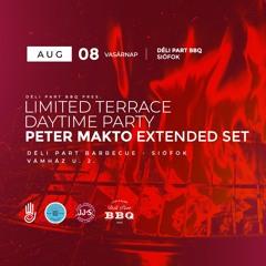 Peter Makto - Déli Part BBQ Vol.03 LIVE DJ Set (Limited Terrace Daytime Party 2021)