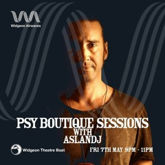 Psy Boutique Sessions On Widgeon Airwaves @ Widgeon Theatre Boat UK (Psychedelic Techno)